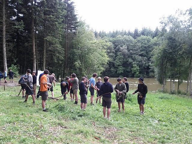 Camp Scout Unitaire de France - Juillet 2011