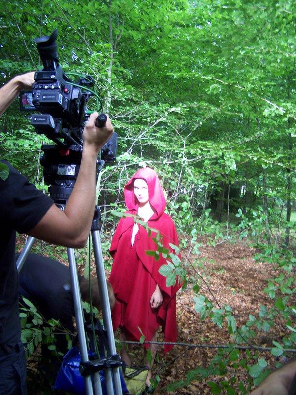 Tournage de film dans le parc